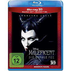 BLU-RAY Maleficent - Die dunkle Fee (3D Vers.) Hörbuch