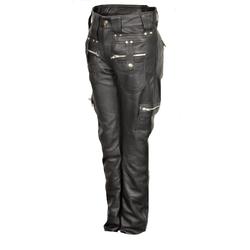 Lederhose im Cargo Style in soft ECHT LEDER für Männer