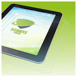 Wigento Tablet-Hülle 3x Displayschutzfolie für Apple iPad Pro 10.5 2017 + Poliertuch