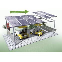 Schindler Alusystemtechnik SEP3051 Solar Carport Stand