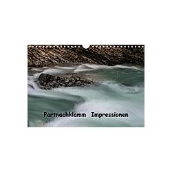 Partnachklamm Impressionen (Wandkalender 2021 DIN A4 quer)
