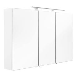Emotion Spiegelschrank Spiegelschrank 110x68x16cm mit LED Leuchte weiß