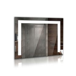 Bilderdepot24 Glasbild, Beleuchteter LED Badspiegel - U_LED 80 cm x 60 cm
