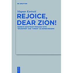 Rejoice  Dear Zion!. Magnar Kartveit  - Buch