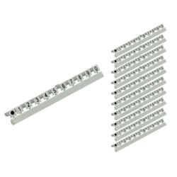 Good Connections Nummer Markierungen für LC LWL Kabel Markierung 0-9 10er Set