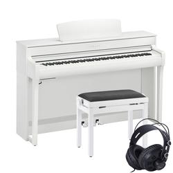 Yamaha CLP-745 Weiß Set
