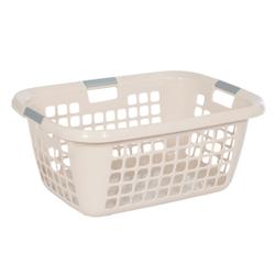Wäschekorb 55 -Easy-, Aus Kunststoff, Maße: 55 x 39 x 24 cm, creme