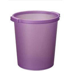 Papierkorb Silky Touch 15l violett