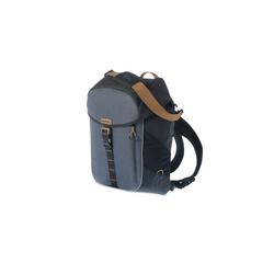 Basil Miles Daypack - Fahrradschultertasche - Fahrradrucksack - 17l - schwarz/grau Taschenvariante - Packtasche/Gebäcktasche,