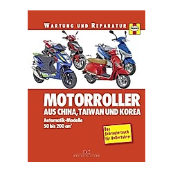 Motorroller aus China  Taiwan und Korea. Phil Mather  - Buch