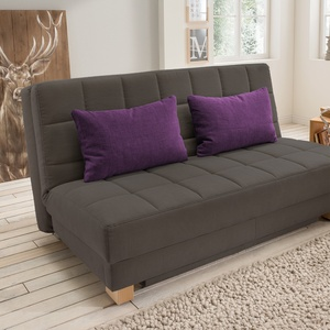 "Schlafsofa ""Callea"" (mit Bettkasten, 160cm, Hot Madison)"