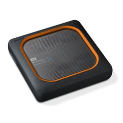 WD My Passport Wireless SSD USB3.0 500GB grau