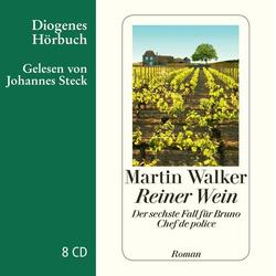 Reiner Wein als Hörbuch CD von Martin Walker
