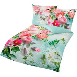Bettwäsche Romantic, BIERBAUM, mit romantischen Blumen