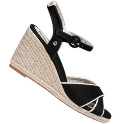 Pepe Jeans Damskie sandały na koturnie Shark PLS90404-999 - 38
