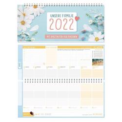 Häfft Tischkalender Tischkalender Familie 2022