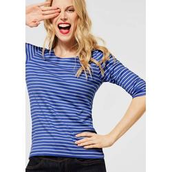 STREET ONE 3/4-Arm-Shirt Hanya blau 42