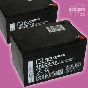 Akku-Satz Batterien für Elektroroller ESC1000XL 1600 XL, 4 x 12V 13Ah Blei AGM