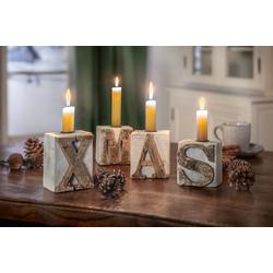 HomeLiving Kerzenhalter XMAS