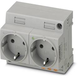 Phoenix Contact Schaltschrank-Steckdose EO-CF/PT/LED/DUO Grau 1St.