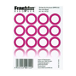 Franklin Discover Sticker Set 400 St. Rot