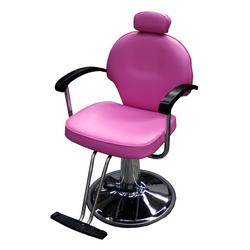 1140 Friseurstuhl CARRARA pink