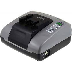 Powery Powery Akku-Ladegerät mit USB für Hilti Stichsäge WSR 650-A, 24V