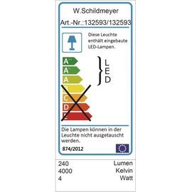 Schildmeyer Verona LED 90 cm weiß