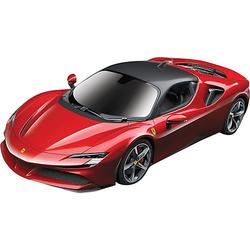 RC 1:24 Ferrari SF90 Stradale, 2,4GHz, USB-Kabel (RTR) rot