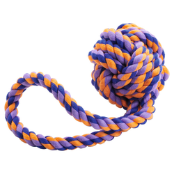 Hunter Hundespielzeug Jena Ball mit Handschlaufe, Größe: M