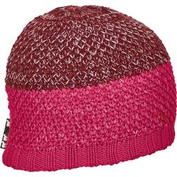 Ortovox Crochet Beanie Mütze neon hot coral
