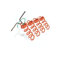 riijk Bodenanker Bodenanker mit Eindrehhilfe, Set, 4 tlg., 4Stk. Bodenanker mit Eindrehhilfe