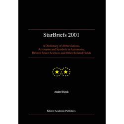 StarBriefs 2001: Buch von André Heck