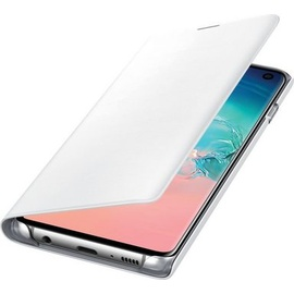 Samsung LED View Cover EF-NG973 für Galaxy S10 weiß