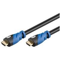goobay 72318 HDMI-Kabel 2 m HDMI Kabel mit Ethernet, 4K Unterstützung