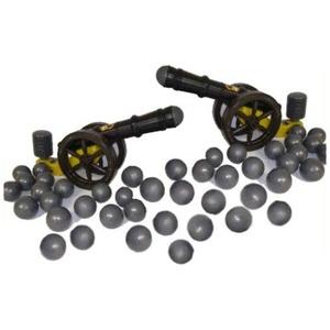 koenig-tom Bällebad24 - 2X Kanone f. Bällebad Bälle Ballkanone Bällebadkanone Kanone im Set inkl. 150 Kanonenkugeln, Tüv geprüft und Zertifiziert 2019