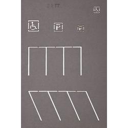 NOCH 48600 TT Straßenmarkierungs-Schablonen