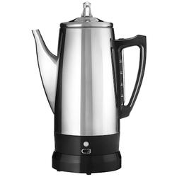 C3 Kaffeebereiter Rostfreier Stahl 12 Tassen