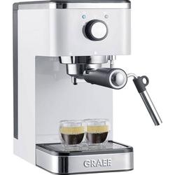Graef Salita Espressomaschine mit Siebträger Weiß 1400W