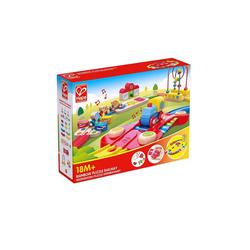 Hape Motorikwürfel Regenbogen-Puzzle Eisenbahnset