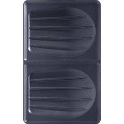 3 Stück Tefal Plattenset Nr.1 Sandwich XA 8001 sw/eds