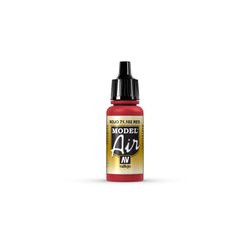 Vallejo Bastelnaturmaterial Rot 102 RLM 23 Vallejo Model Air 17ml Airbrush Farbe, (1-tlg)