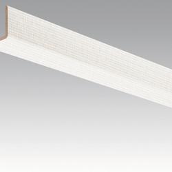 Meister Sockelleisten Winkelleisten Edelstahl DF 063 - 2380 x 33 x 3,5 mm -