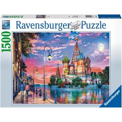 Ravensburger Puzzle Moscow, 1500 Puzzleteile, Made in Germany, FSC® - schützt Wald - weltweit