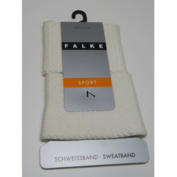 weiß - Falke - Schweissband - 2 Stk.