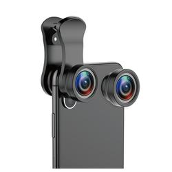 Baseus Baseus Short Videos HD Magic Camera 180 Grad Fischaugenlinse General 100 Grad Weitwinkel Schwarz Wechselrahmen Objektiv Kits Objektiv