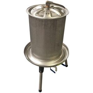 Motorgeräte Fischer Speidel 40 Liter Hydropresse Wasserdruckpresse, Obstpresse, Saftpresse Edelstahl
