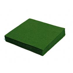 Servietten 33 x 33 cm 1/4-Falz 3-lagig dunkelgrün, 20 Stk.