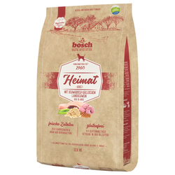 (4,16 EUR/kg) Bosch Heimat Adult mit Schwäbisch-hällischem Landschwein, Reis & Hirse 12 kg