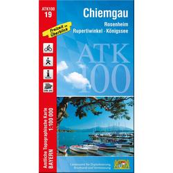 Chiemgau 1 : 100 000